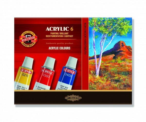 Farby akrylowe i olejne